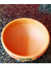 Clay Bowl Rakabi Large Flower (Face 15 cm X Height 6.5 cm) (Free post in UK)