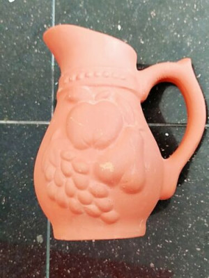 Clay Pot Water Jug (2 Liter ) Made by Clay (Free post in UK)