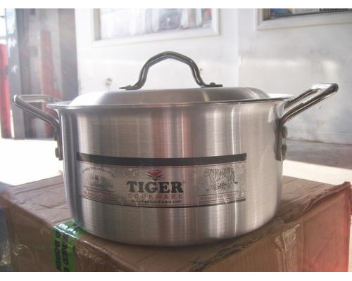 Cooking Pots Aluminium  Boiling Pans size # 1,2,3,4,5,6,7,8,9,10,11,12,13,14 (Free Post in UK)