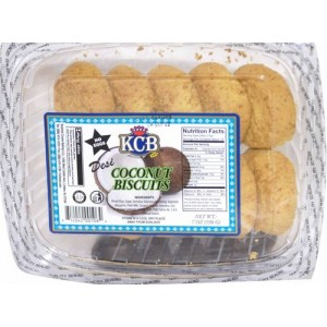 KCB Desi Badam & Coconut Biscuits 198 Grams (7 OZ)