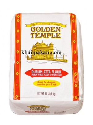 Golden Temple Durum Atta (Flour) 20Lbs