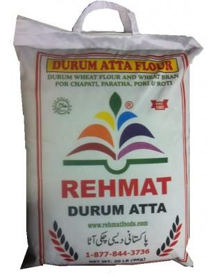Rehmat Durum Atta (Flour) 20Lbs