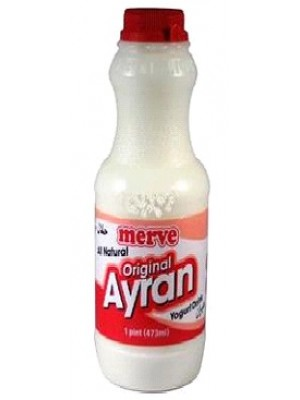 Ayran original sour/Yogurt drink 473 ml