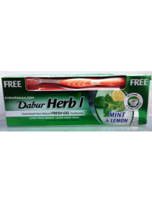 Dabur Herb'l Mint & Lemon Fresh Gel 150G