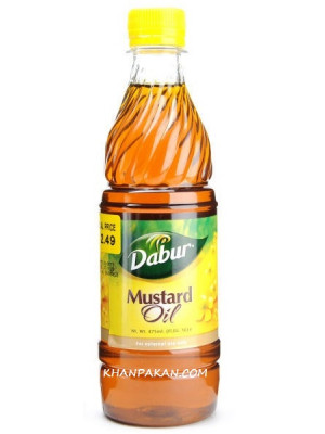 Dabur Mustard Oil 16.9Oz 500mL
