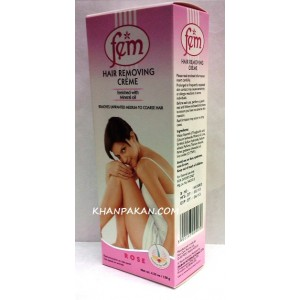 Fem Hair Removal Cream Rose 120G