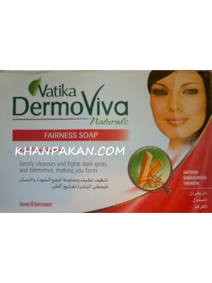 Vatika DermoViva Naturals Fairness Soap 125G