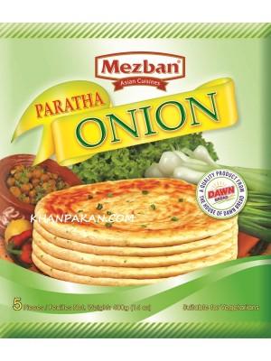 Mezban Onion Paratha 5 Pea 14 oz /400 g