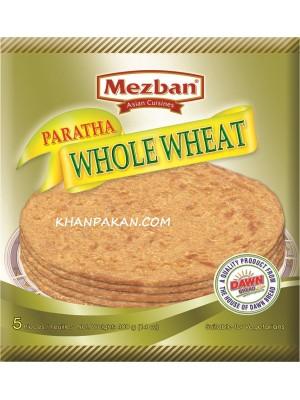 Mezban Whole Wheat Paratha 5 Pc 14 oz /400 g