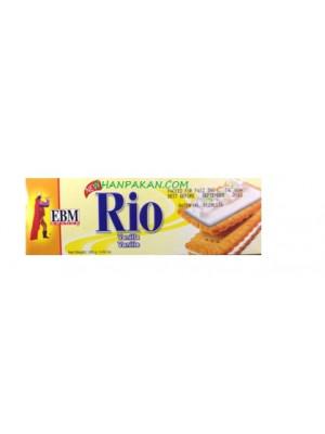 EBM RIO VANILLA CREAM BISCUITS  144 GMS