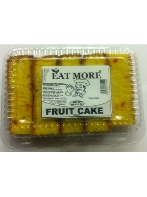 Eat More Fruit Cake Slices  200G