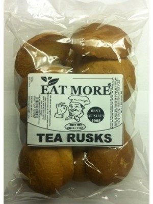 Eat More Crispy Tea Rusk  200G