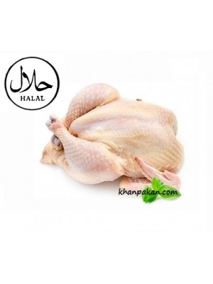 Chicken Halal  On Head  with Skin for  (One chicken is approximately 3.5 lbs)