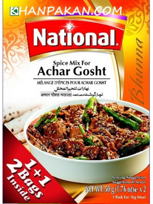 National Achar Gosht Masala 50 gmx2