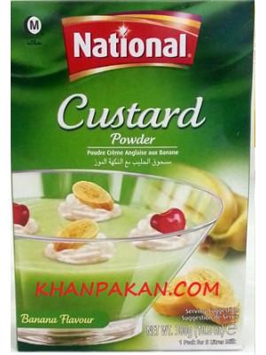 National Banana Custard 300gm