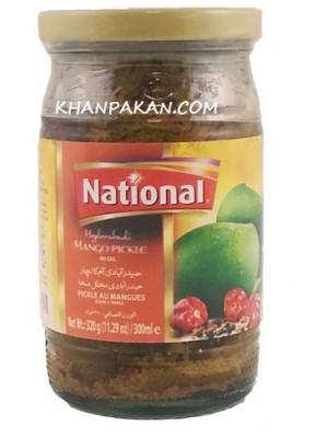 National  Hydrabadi Mango Pickle 320 gm