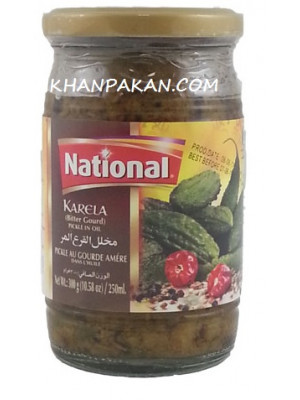 National Karela Piclkle 300g