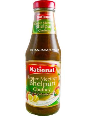 National Khati Meethi Bhelpuri Chutney 300 gm