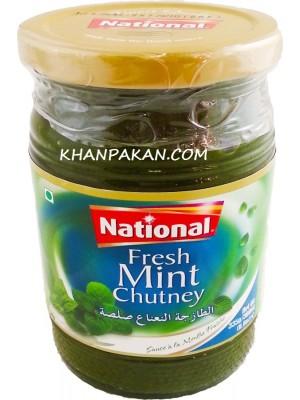 National  Fresh Mint Chutney 335 gm