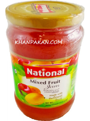 National Mixed Fruit Jam  440 gm