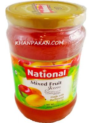 National Mixed Fruit Jam  440 gm