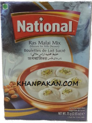 National Rasmalai-Mix 75 gm