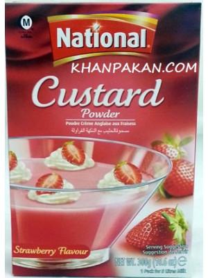 National Strawberry Custard 300 gm