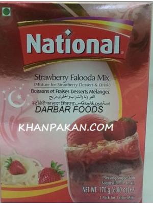 National Strawberry Flooda-mix 170 gm