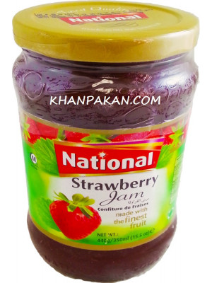 National Strawberry Jam 440 gm