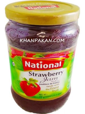 National Strawberry Jam 440 gm