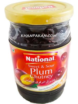 National Sweet & Plum Chutney 390 gm