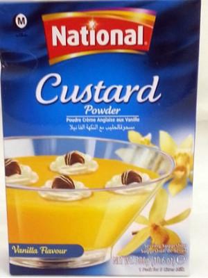 National Vanilla Custard 300 gm
