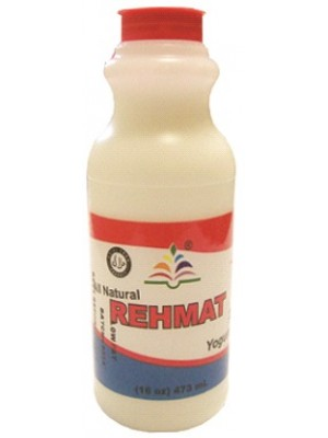Rehmat Lassi Yogurt Drink 473 ml Plain Rehmat Brand
