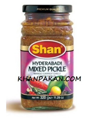 Shan Hyderabadi Mixed Pickle 320G