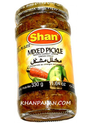 Shan Mixed Pickle 330Gms