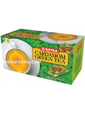 Tapal Jasmine Cardamom Green Tea Bags 30 Tea Bags