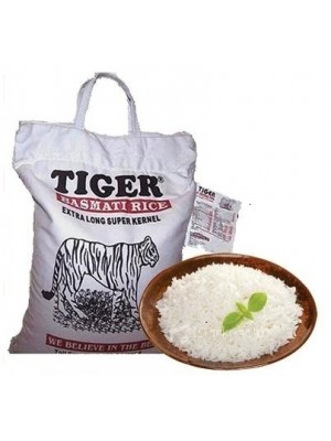 TIGER BASMATI RICE 10 LBS