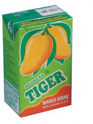 TIGER MANGO JUICE 250ML X 36