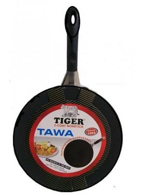 "TAWA, ROTI SHEET (TIGER BRAND)  Non Stick Aluminium 12"" 14''"