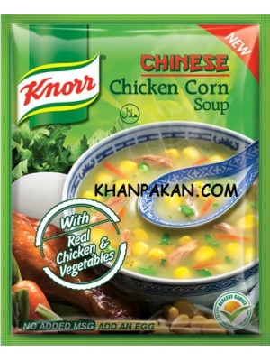 KNORR CHICKEN CORN SOUP 48g