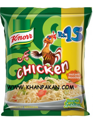 KNORR CHICKEN FLAVORED NOODLES  66GM