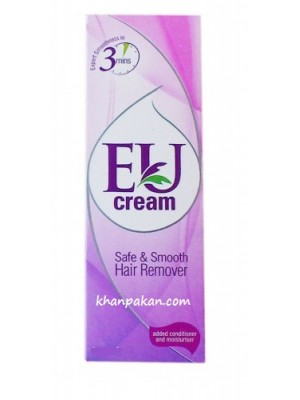 EU CREAM Hair Remover Lotion with Unique Fragrance 75 gm