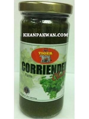 Coriander Chutney Paste Condiment - 8oz Tiger Brand