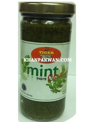 Mint Chutney Paste 8 OZ Tiger Brand