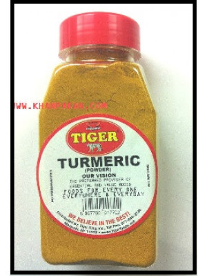 TURMERIC POWDER, JAR 7 OZ FRESH NATURAL TIGER BRAND