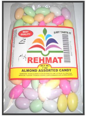 Almond Jordan Candy  7OZ  (200gm)  Rehmat Brand
