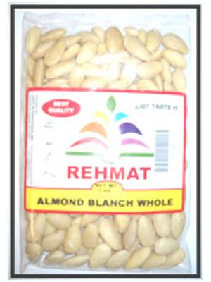 Almond Blanch Whole 7OZ  (200gm)  Rehmat Brand