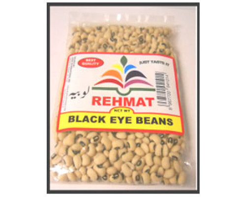 Black Eye Beans Lobiya ( Rehmat Brand) Freshly Packed