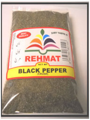 Black Pepper Coarse Kali Mirch 7OZ (200 gm) Rehmat Brand