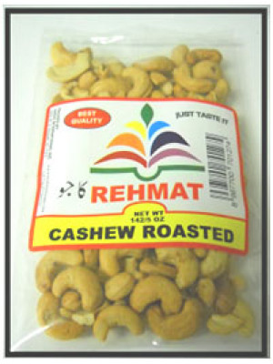 Cashew Roasted 7 oz (200gm) Rehmat Brand